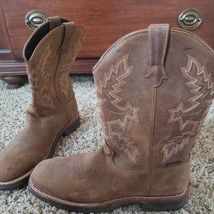 Womens Rocky Waterproof Work Boots - NEW